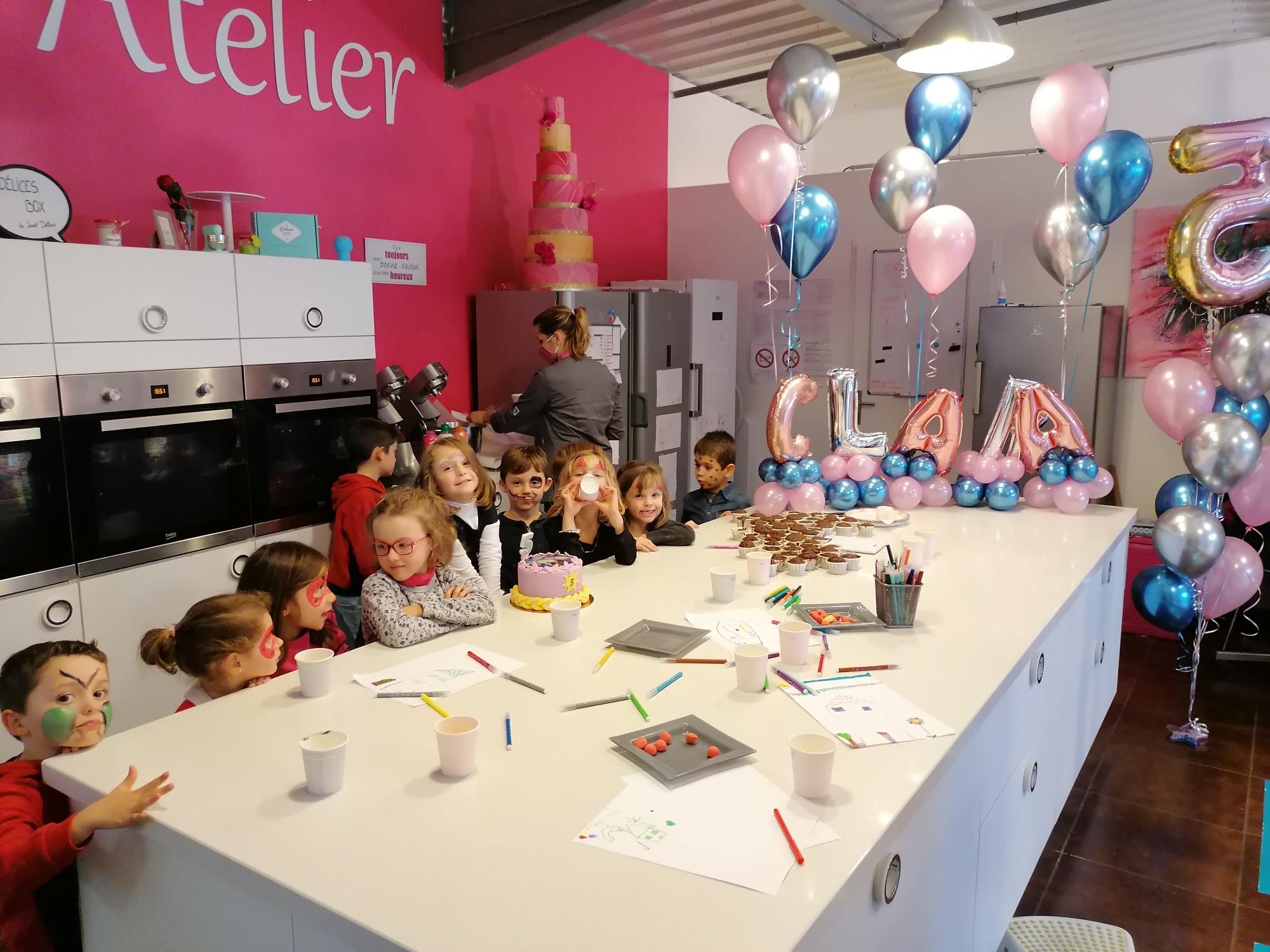 Viens fêter ton anniversaire chez Sweet Délices