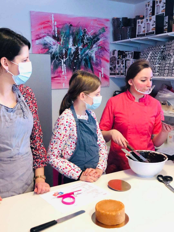 Nos ateliers de pâtisserie